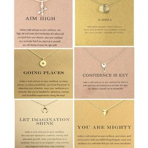Jewelry - 🎀3/$23🎀 Gold Inspiration Necklaces